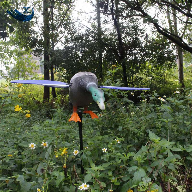 Xilei New Arrival Wholesale 6V Remote Control Eco-Friendly Paint Duck Decoy Mojo Duck Decoy With Magnet Spinning Wings 2017 xilei ducks decoy electric flying duck decoy duck with remote control with spinning wings