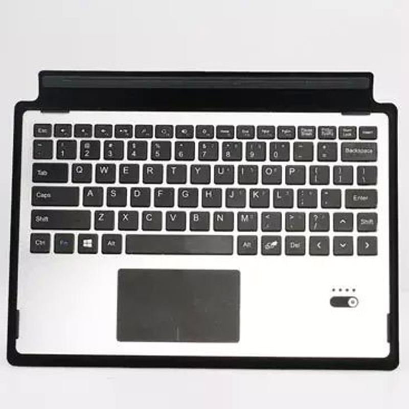 Ultra Thin Portable Aluminum Wireless Bluetooth Keyboard For Microsoft Surface 3 10.8'' Tablet