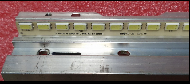 Led Backlight Screen KLV-32HX550  3660L-0386A 32INCH HD R-TYPE REV0.0 Article Lamp 1pcs=48led 350mm