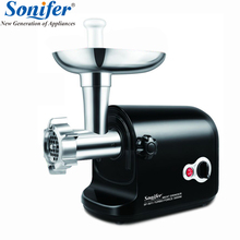 3000W high power stainless steel Colorful Home Electric Meat Grinder Sausage Stuffer Mincer Heavy Duty Household Mincer Sonifer
