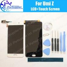 UMI Z ЖК-дисплей Дисплей + Сенсорный экран 100% оригинал ЖК-дисплей планшета Стекло Панель Замена для umidigi Z + Инструменты + клей