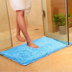 doormat floor mat anti-slip water absorption carpet kitchen mat door mat kitchen carpet toilet rug hallway porch doormat 40x58cm(China)