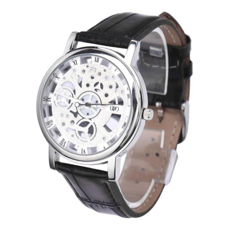 Excellent Quality Top Brand Luxury Business Watch Mens Fashion Sport Quartz Clock Leather Strap Wristwatches Relogio Masculino