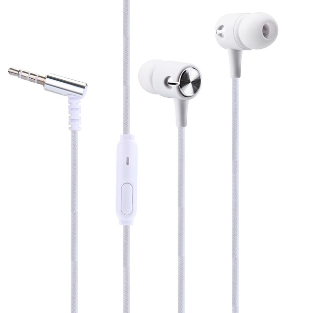 4 Color Cool Sports Earphone With Microphone 3.5mm In-Ear Stereo Earbuds Headset For Computer Cell Phone MP3 Music Phone BAY06