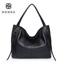 Hongu Пояса из натуральной кожи Сумки на плечо для Для женщин Высокое качество брендов Хобо Стиль Tote Настоящее Теплые кисточкой Кошелек красн
