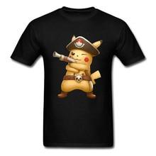Pokemon Pikachu Pirate King Funny T Shirt 3D One Piece Mimikyu Luffy Tshirt Naruto My Hero Academy Anime T Shirt Boy Titan цена и фото