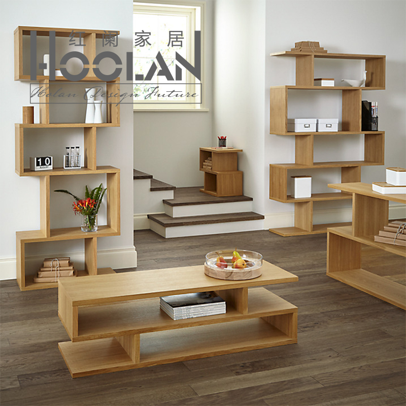 Nordic americana ikea mesa de centro de madera minimalista moderna sala de estar muebles - Modificar muebles ikea ...