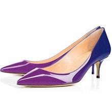COCOAFOAL Frau Lila High Heels Schuhe Große Größe 43 44 45 Party Sexy  Leopard Schuhe Blau Weiß Grün Rosa Hochzeit braut Schuhe 6143c4e87c