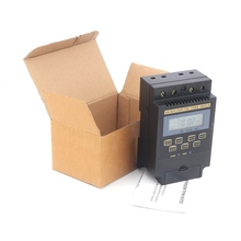 12V 110V 220V Microcomputer Control Timer Switch LCD Display Electronic Programmable Greenhouse Irrigation Pump Time Controller