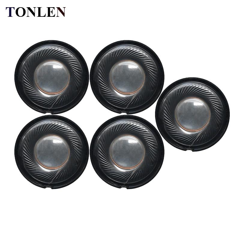 Details about TONLEN 5PCS 30mm 0 5W 32ohm Headphone Speaker Round Headset  Horn 32 ohm DIY HIFI