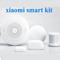 Original xiaomi kit casa inteligente interruptor remoto, maneira portão Multifuncional Inteligente Comutador Sem Fio Porta Janela Sensor Do Corpo Humano