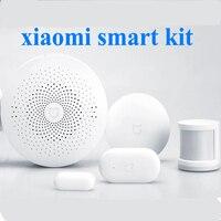 100 Original Xiaomi Smart Home Kit Gate Way Intelligent Multifunction Wireless Switch Human Body Sensor Door