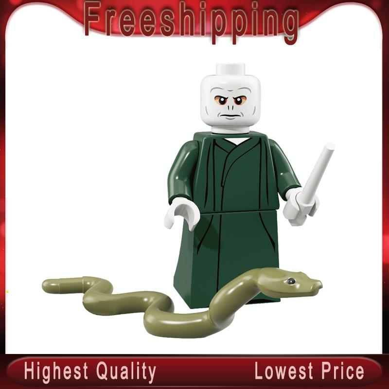Single Sale Harry Potter Lord Voldemort Action Figure Building Blocks Gifts Toys For Children WM564