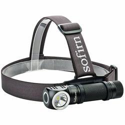 Sofirn SP40 светодиодный налобный фонарь Cree XPL 1200lm 18650 Перезаряжаемые USB фар 18350 фонарик 4 режима Мощность индикатор