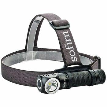 Sofirn SP40 كشافات LED كري XPL 18650 USB قابلة للشحن رئيس مصباح 1200lm مشرق في الهواء الطلق الصيد العلوي المغناطيس الذيل كوب