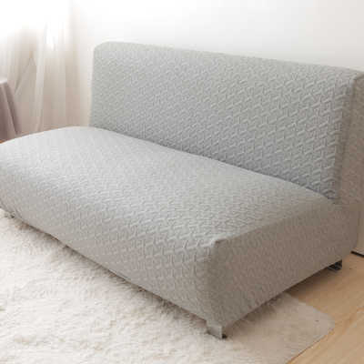 Armless Sofa Cover Bed