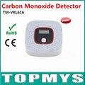 Дым Детектор Угарного газа Детектор Пожарной Сигнализации Мониторинга CO Датчик Детектора с ЖК-ДИСПЛЕЕМ Для Дома Безопасности TM-VKL616