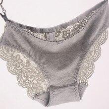 Новые женские Трусы Вискоза Кружевные Трусики Плюс Размер Прозрачный Underwear Ladies Intimates Сексуальные XL 2XL 3XL Высокое Качество