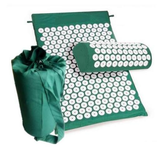 Acupressure Mat Head Neck Back Foot Massage Cushion With Pillow Yoga Spike Mat Anti-stress Acupuncture Needle Massage Pillow