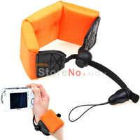 Orange Waterproof Dive Strap Floating Foam Strap Applicable for gopro 3+ 4 For  Digital Camera