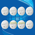 Free Shipping!8 pieces/lot Wholesale Smoke detector/smoke alarm system/Fire alarm/home security system/Fire resistant detector