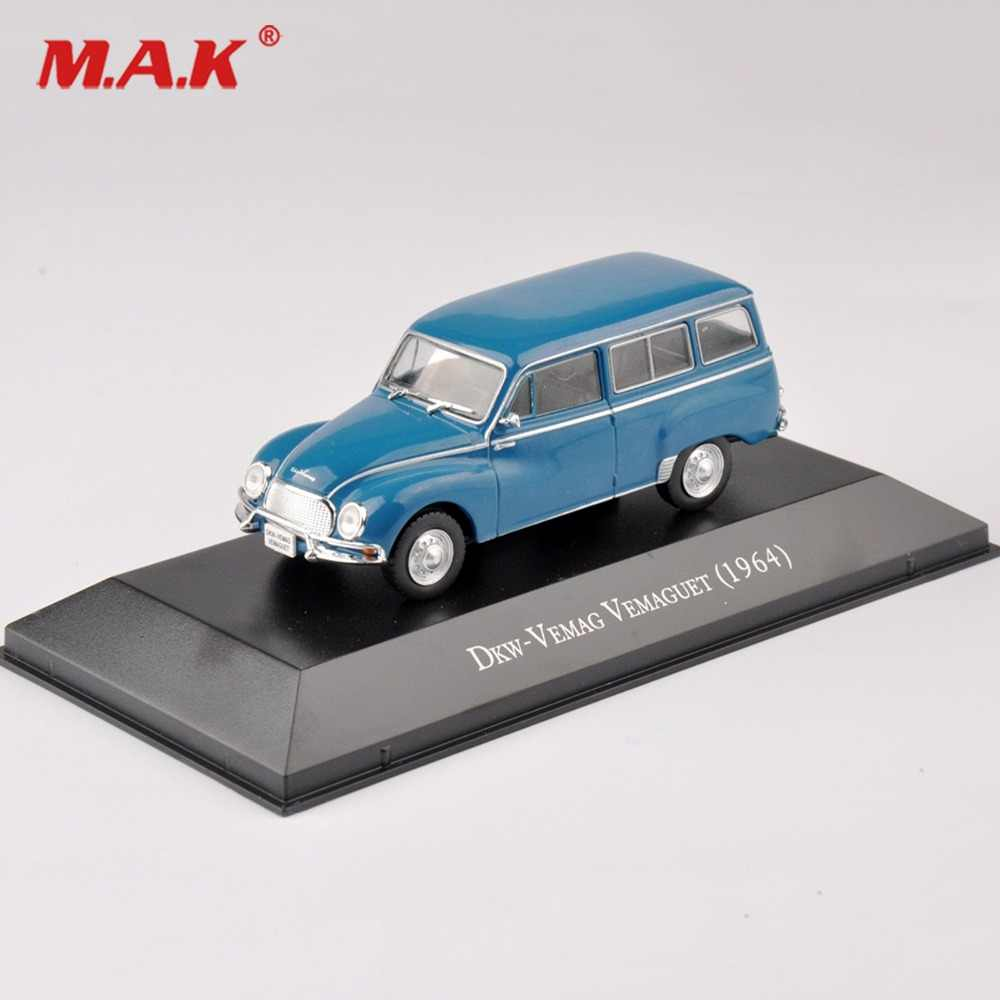 Cheap Toys 1/43th Dkw-VEMAG VEMAGUET(1964) Diecast Blue Car Model Gift Toys Vehicles Car Model toys Kids Toy