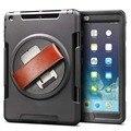 Case Для Apple iPad 2 iPad 3 iPad 4 Крышка Высокого Ударопрочный Гибридный Три Слоя Heavy Duty Броня Защитник Всего Тела протектор