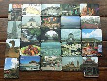 24 Шт. Китай Тайвань Тай Wan Памятников Искусства Бумаги Туризма Сувенирные Магниты На Холодильник ПОДАРОК