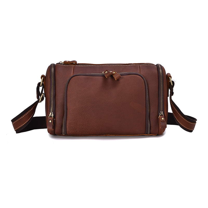 YISHEN Simple Vintage Men Crossbody Bags Genuine Cow Leather Male Messenger Bags Small Casual Travel Shoulder Bags MSXY1001 yishen casual vintage genuine leather men shoulder crossbody bags fashion flap bags male messenger bags travel bags bfl 3358