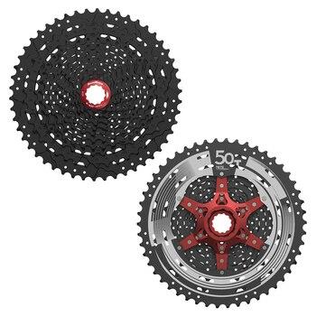 SunRace 11 Speed Cassette CSMX8 11-50T  11-46T 11-42T Bike Cassette fit Shimano SRAM Flywheel Sunrace 11-46 11s Cassette
