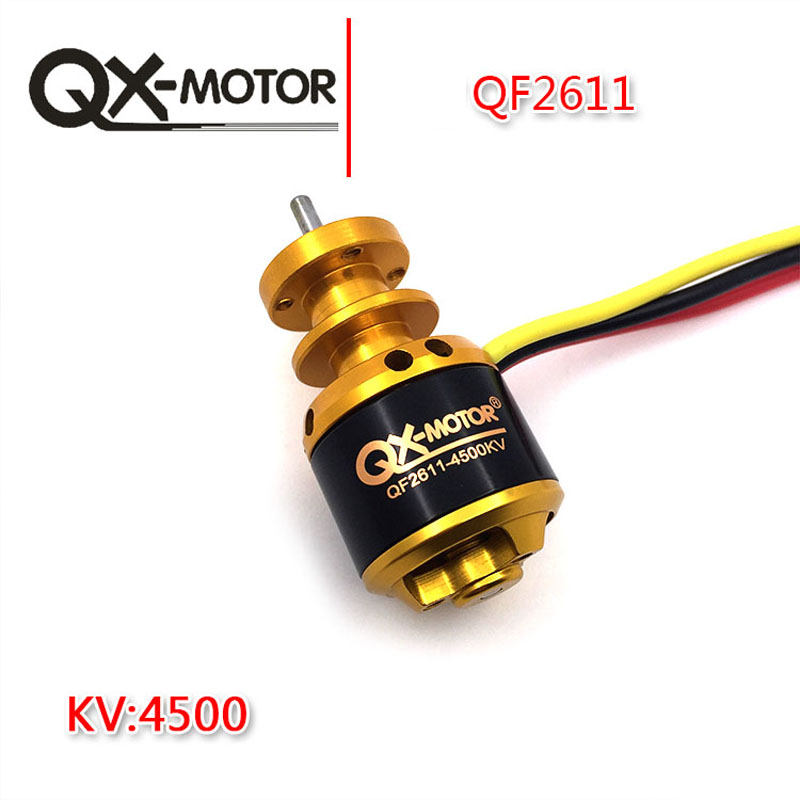 QX-MOTOR QF2611 4500kv 3S harjadeta mootor RC-lennukile 64 mm kanalisatsiooniga ventilaatoripumba EDF DIY drone-osad