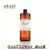 AKARZ Famous Brand Pure Sunflower Seed Oil Natural Aromatherapy High Capacity Skin Body Care Massage Spa