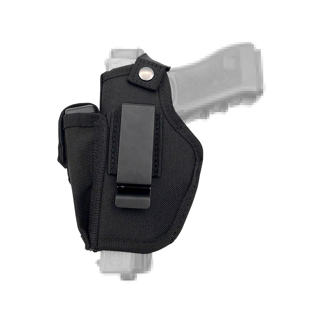 Gun Holster Concealed Carry Holsters Belt Metal Clip IWB OWB Holster Airsoft Gun Bag Hunting Articles For All Sizes Handguns-in Holsters from Sports & Entertainment