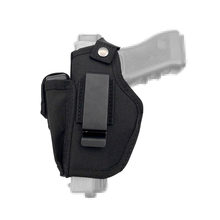 مسدس الحافظة أخفى حمل الحافظات حزام مشبك معدني IWB OWB الحافظة Airsoft بندقية حقيبة الصيد المواد لجميع الأحجام المسدسات