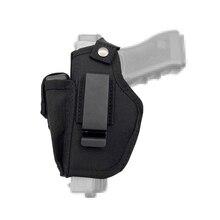 Tabanca kılıfı gizli taşıma kılıfları kemer Metal klip IWB OWB kılıfı Airsoft silah çantası avcılık ürünleri tüm boyutları için tabanca