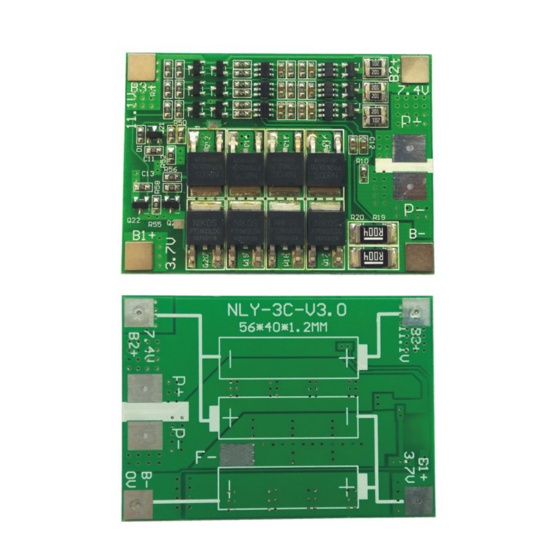 3s 25a 3s 40a Bms 18650 Li-Ion Lithium Battery Balancer Pcm Lipo Lithium Charger Protection Circuit Board Pcb With Balance Diy