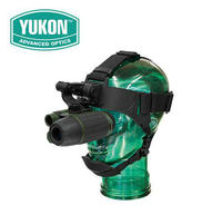Yukon NVMT Spartan 1x24 Night Vision Monoculars Multi Task Infrared Hunting Trail Scope Telescope GOGGLE | HEAD MOUNT KIT Camera