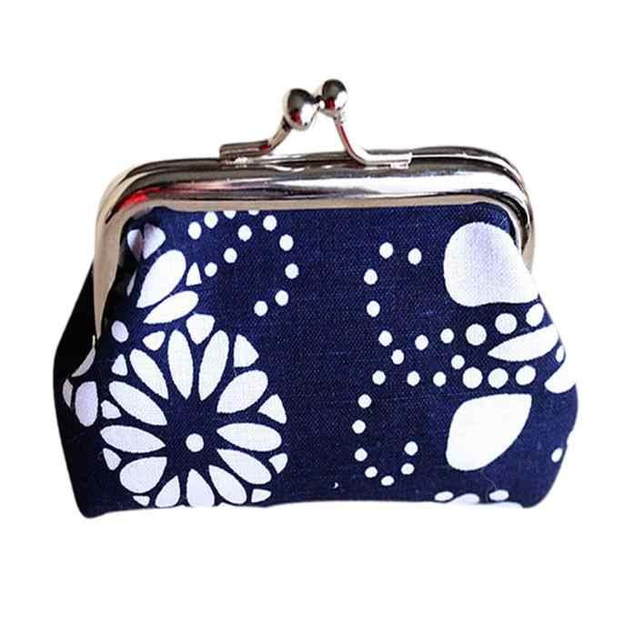 Maison Fabre 2019 جديد محفظة نسائية للعملات المعدنية النساء خفيفة و المدمجة سيدة ريترو خمر محفظة صغيرة غلق بمشبك محفظة حقيبة صغيرة