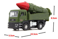 Anti Ship Missile Field Army Back Car Alloy Model Children S Toy Car