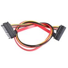 22 Pin Male to Female 7+15 pin SATA Data Power Combo Extension Cable 30CM QJY99