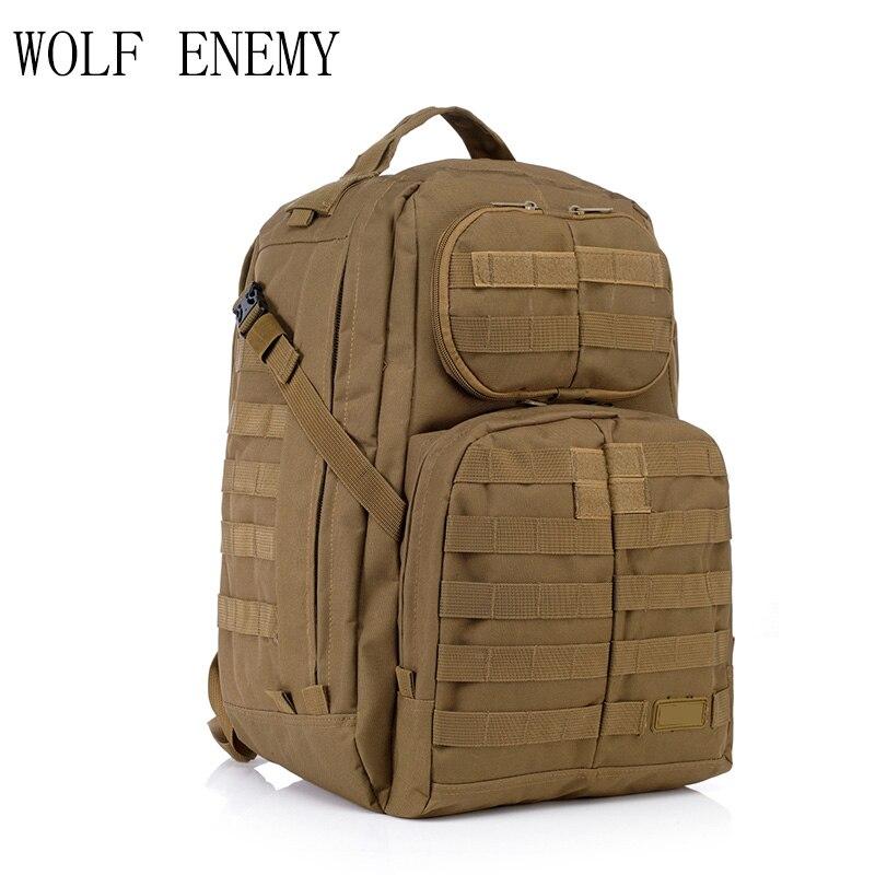 Offre spéciale hommes en plein air Style militaire Camo Camping sac patrouille 3 jours tactique Molle Camel Pack assaut Camoflaage sac à dos - 4