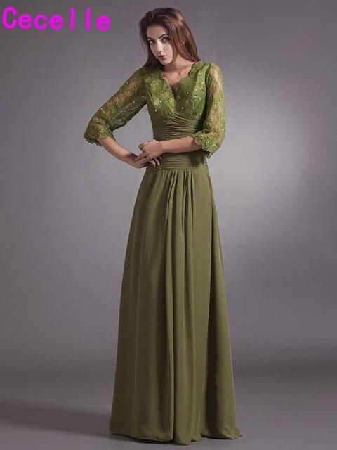 Vestido verde olivo precio