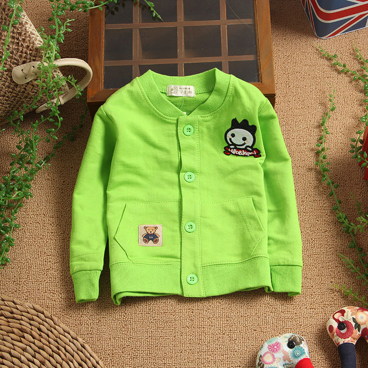 Small children's clothing 0 – 2 years old baby autumn baby shirt male female child long-sleeve shirt 100% cotton clothes