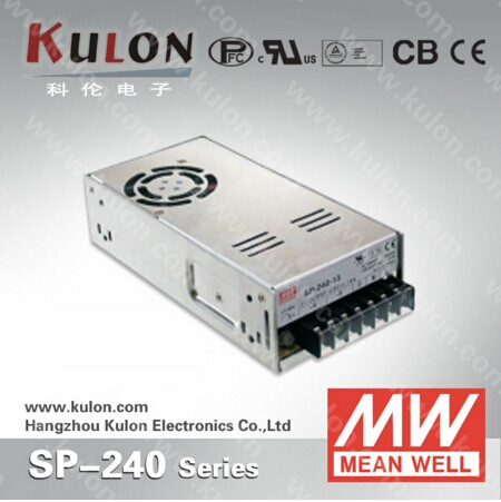 MEAN WELL Switch Power Supply SP-240-7.5 power supply Single output 240w 7.5v 32A Reliable 7.5V power Suitable for LED Light meqix power 240