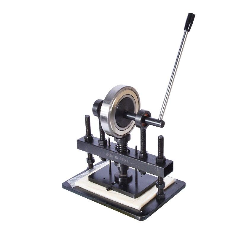 Mano de corte de cuero máquina de foto de papel de PVC/hoja de EVA molde manual molde para cuero/máquina de cortar manual morir prensa - 1