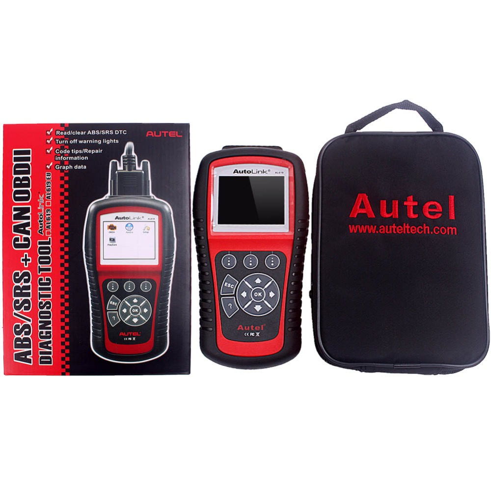New Autel AL619 ABS/SRS+CAN OBD 2 Diagnostic Scan Tool Turn