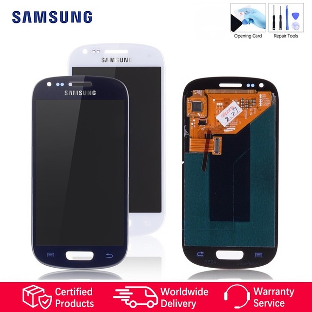 Original Super AMOLED LCD for SAMSUNG Galaxy S3 Mini LCD Display i8190 GT-i8190 i8195 i8200 Touch Screen Replacement Parts