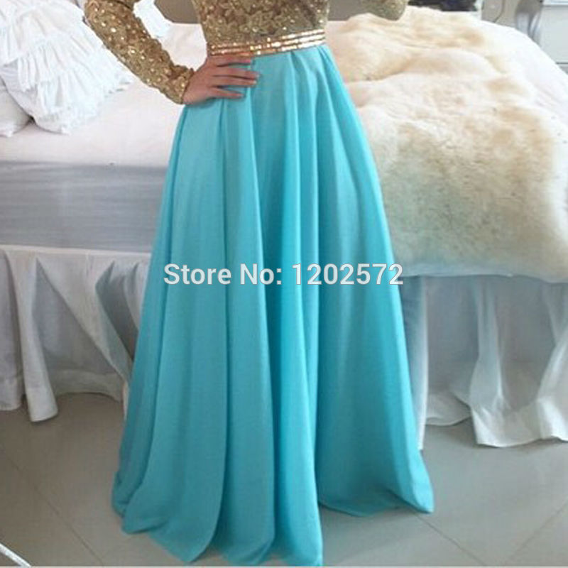 Long Sleeve Prom Dress Real Beaded Applique Ruched Top Sale Vestidos De  Gala Plus Size Trajes Party Evening Dresses Fashion on Aliexpress.com  6bb2e763f693