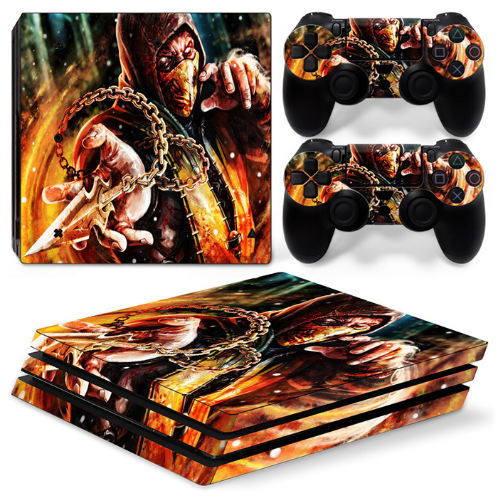 Removable Vinyl Decals for PS4 PRO Skin Stickers