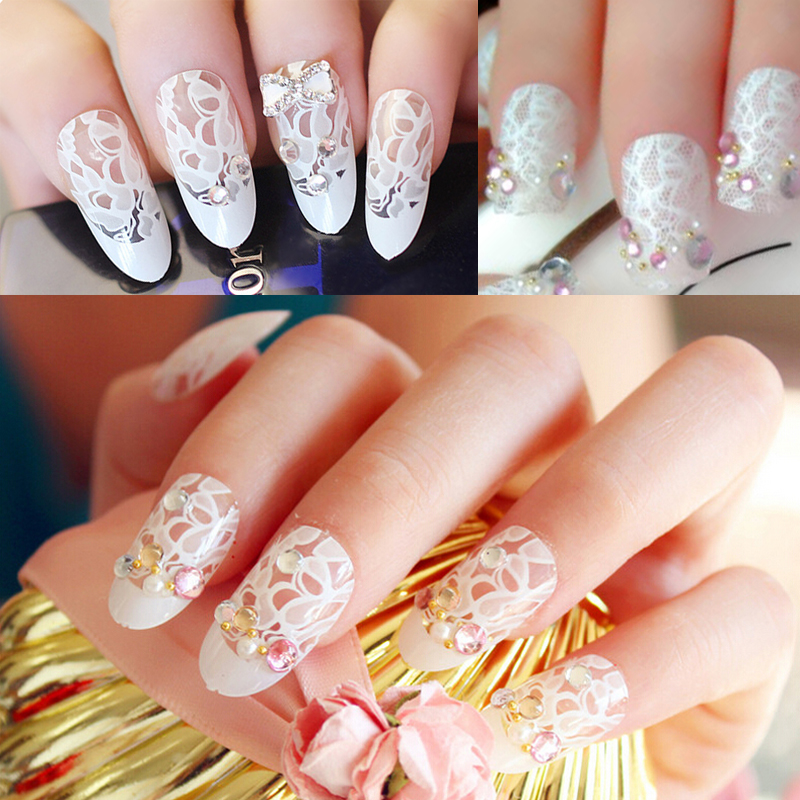 Aliexpress Buy 1 Piece Merry Christmas Nail Art Transfer